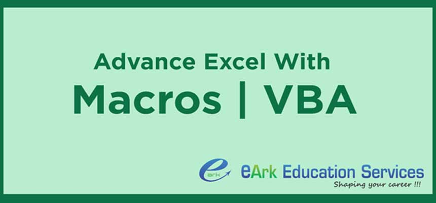 Advance-Excel-with-Macro-VBA-Programming